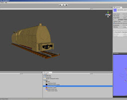 3D German WKII Panzerlok BR 57