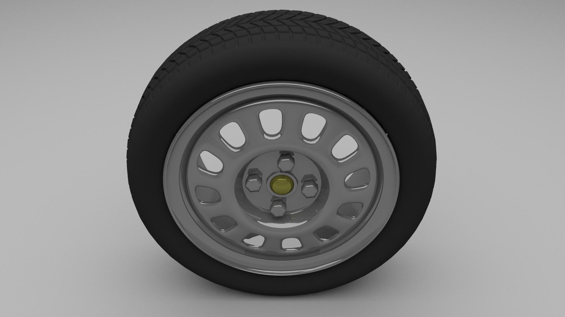 VW Golf Wheel