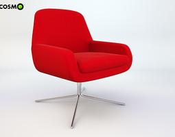 Armchair Coco-Swivel 3D model