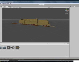 3d front-tender for the german wkii panzerlok br 57