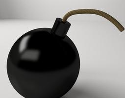 3d model classic bomb