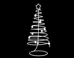 3D print model Spiral Christmas Tree