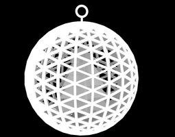 3D print model Attractor Christmas Ornament