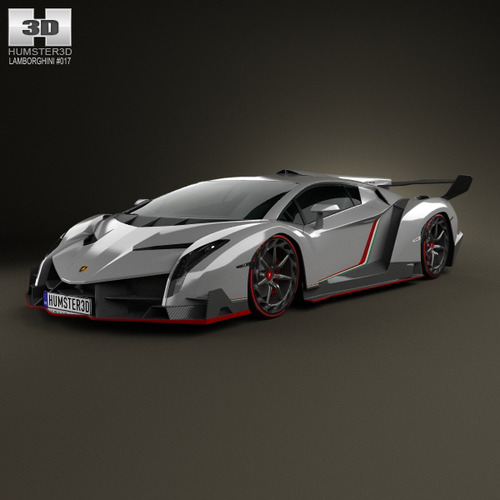 Lamborghini Veneno 2013 3d Model Max Obj 3ds Fbx C4d Lwo