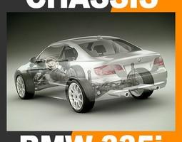 2011 bmw 3 series coupe - bodywork chassis engine interior 3d model max obj 3ds fbx c4d lwo lw lws