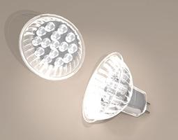 LED lamp details 3D