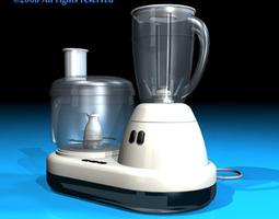 3D Food processor