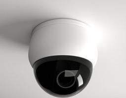 Dome Camera 3D model