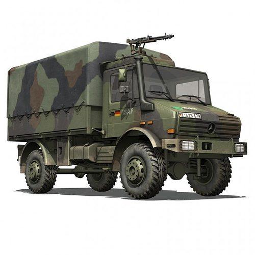 Unimog For Sale >> Mercedes Benz Unimog U1300 German Army ISAF 3D model