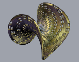 3D printable model Enneper Surface Holes