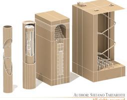 3d model nuke barriers