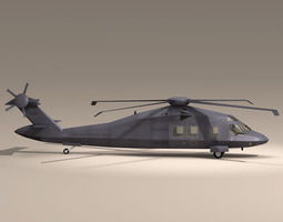 MH60 Stealth Blackhawk 3D