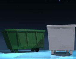 Recycle bin 3D