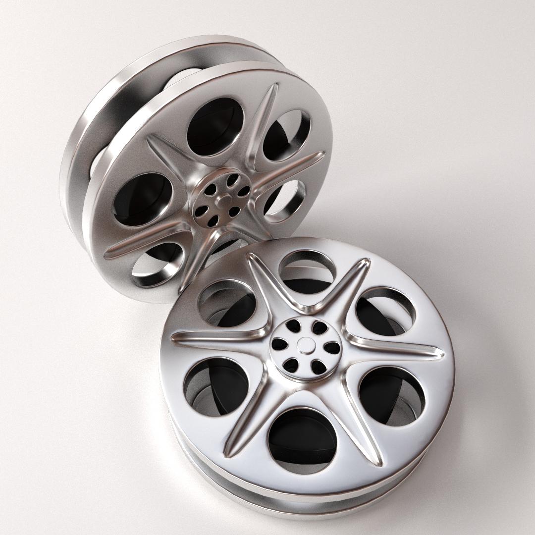 Film reel 3d cgtrader film reel 3d model 3ds fbx blend dae 1 thecheapjerseys Choice Image