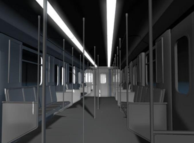 subway collection 3d model. Black Bedroom Furniture Sets. Home Design Ideas