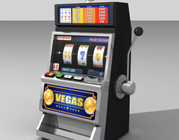 3D Slot machine