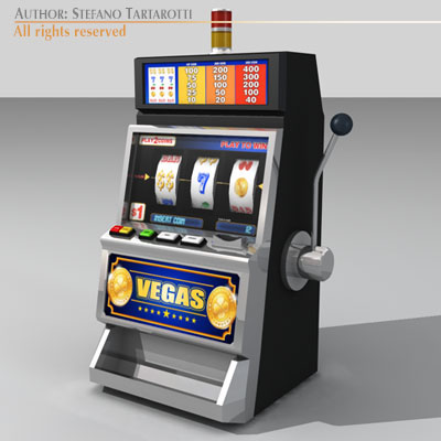 Free Slot Machine 3d Model