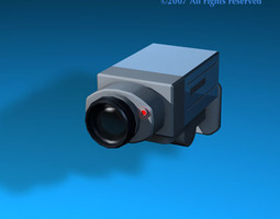 3D Security camera