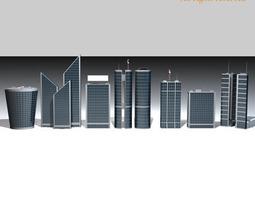 3D Skyscraper collection