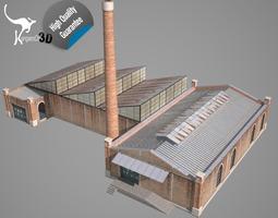 Old Factory 3D asset