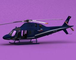 3D model AW-119 Swiss Jet