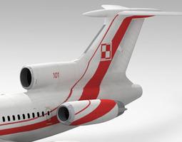 3D Tu-154 Poland