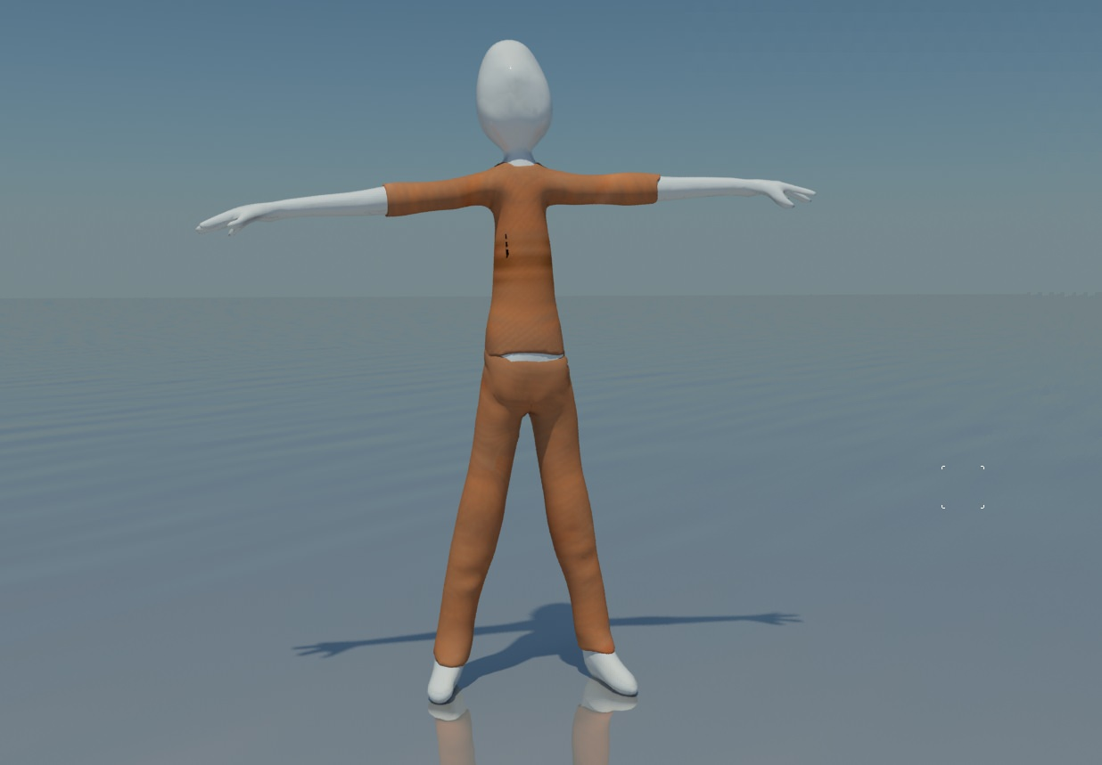 3d Model Rigged Stick Figure Cgtrader