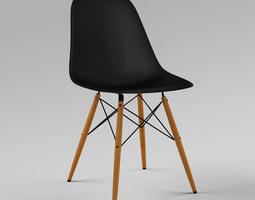 DSW Chair by Eames 3D