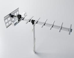 TV Aerial 1 3D model
