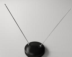 Indoor TV Antenna 3D model