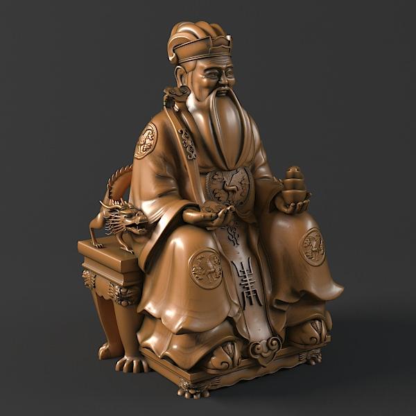 Conosciuto Tu Di Gong Buddha Statue 3D | CGTrader RD63