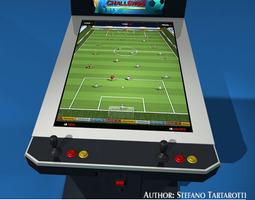 3D model Videogame cabinet