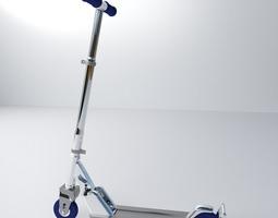 3d model push scooter