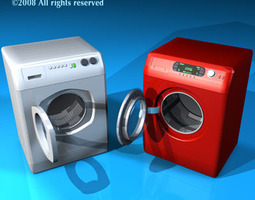 3D model Washing machines