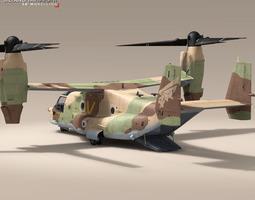 v-22 osprey iaf 3d