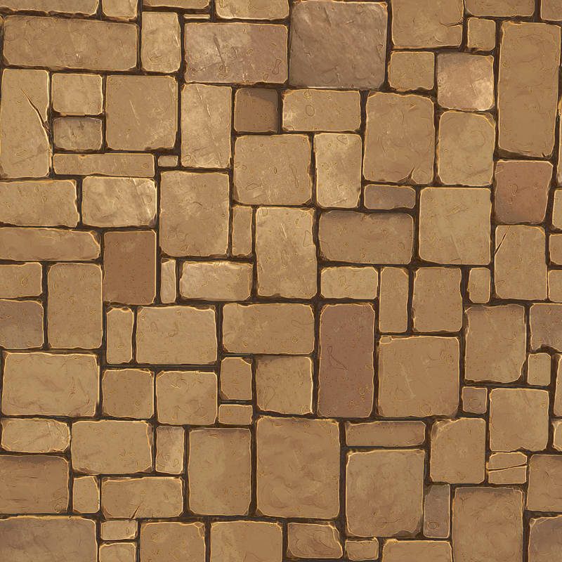 stone floor texture pack low poly 3d model ready for virtual reality