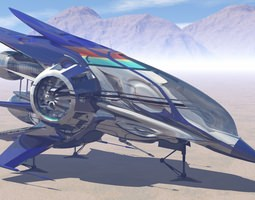 3D Alien Interceptor
