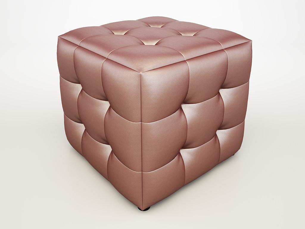 Apollo Bronze Cube Ottoman