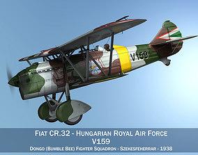3D Fiat CR 32 - Hungarian Royal Air Force - V159