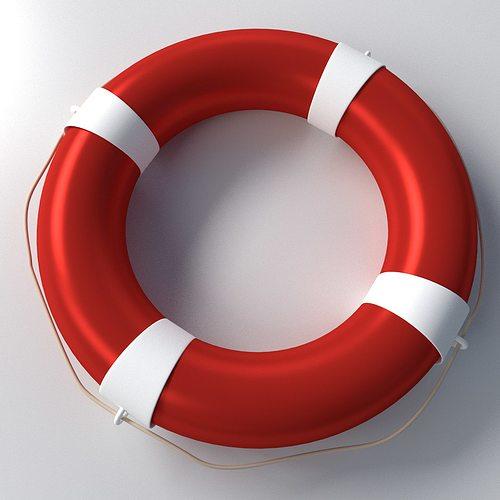 3D Model Safety Ring Float