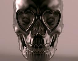 3D printable model Love Skull