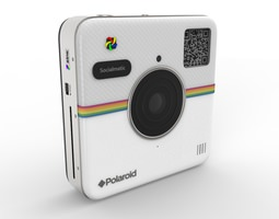 Polaroid Socialmatic 3D Model