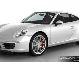 3D Porsche 911 Carrera S 2015