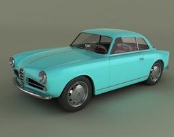 3D Alfa Romeo Giulietta Sprint