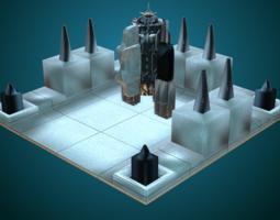 Sci-Fi Structure V 3D