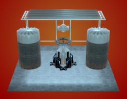 Sci-Fi Structure VI 3D Model