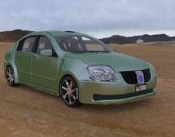 Vandura Family Sedan for Vue 3D