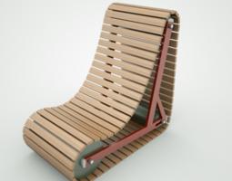 3D model Tank Chair