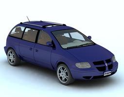 3D Caravan Minivan for Vue