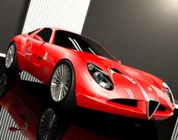 Zagato Alfa romeo TZ3 Corsa 3D
